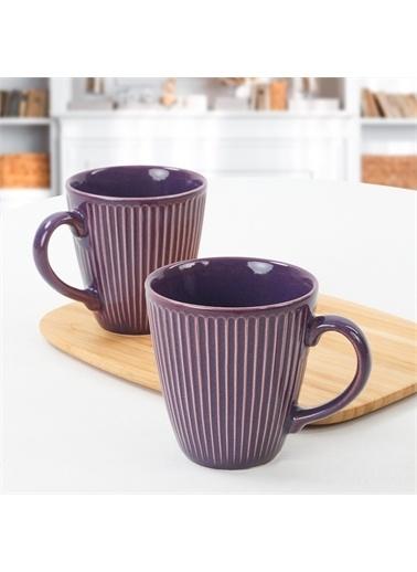 Keramika Mor Myra Kupa 10 Cm 2 Adet Renkli